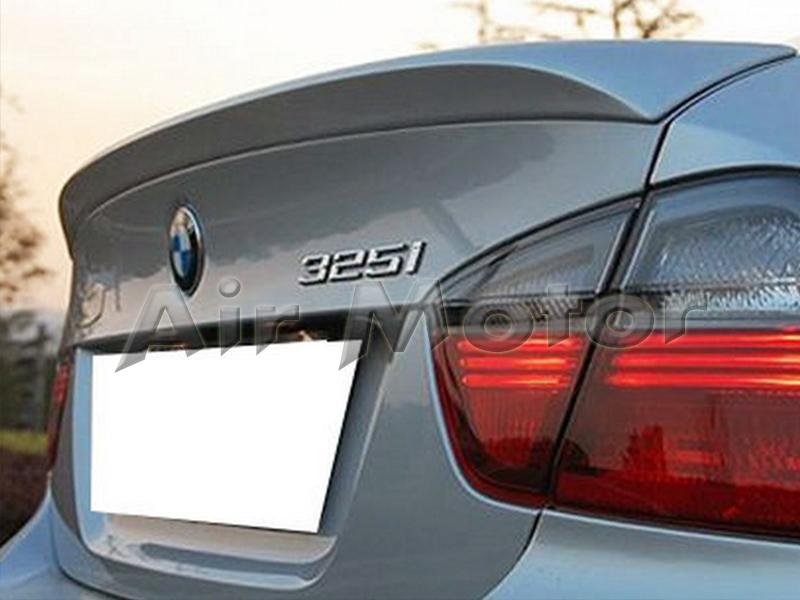 Painted BMW 3-Series E90 4D A Roof Wing /& M3 Rear Boot Trunk Lip Spoiler 330i